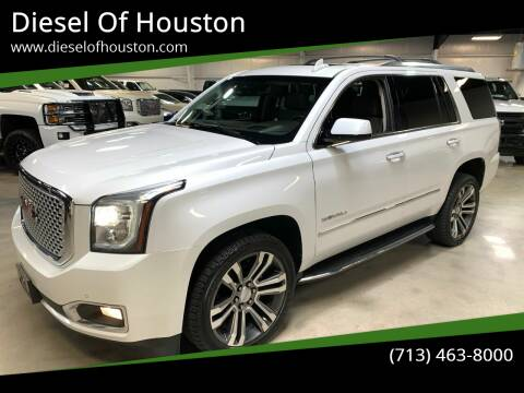 2017 GMC Yukon for sale at Diesel Of Houston in Houston TX