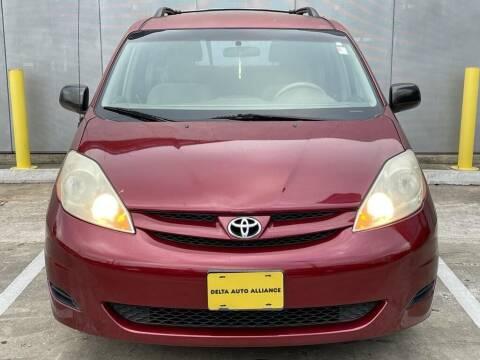 2007 Toyota Sienna for sale at Delta Auto Alliance in Houston TX