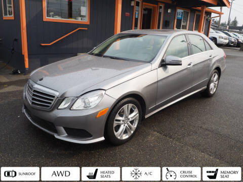 2010 Mercedes-Benz E-Class for sale at Sabeti Motors in Tacoma WA