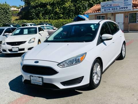 2016 Ford Focus for sale at MotorMax in Lemon Grove CA