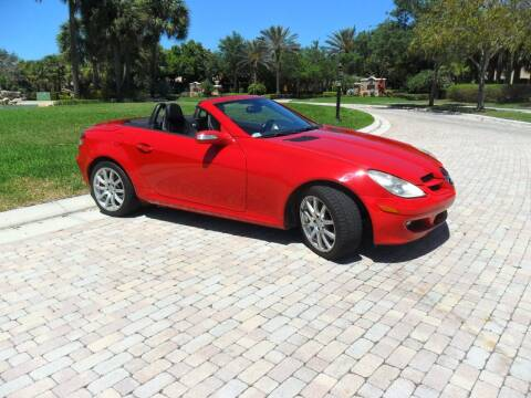 2005 Mercedes-Benz SLK for sale at AUTO HOUSE FLORIDA in Pompano Beach FL