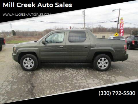 2006 Honda Ridgeline for sale at Mill Creek Auto Sales in Youngstown OH