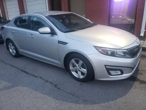2014 Kia Optima for sale at Credit Cars LLC in Lawrenceville GA