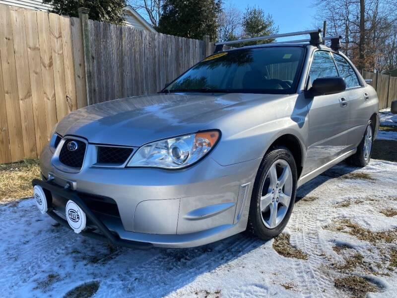 2007 Subaru Impreza for sale at ALL Motor Cars LTD in Tillson NY