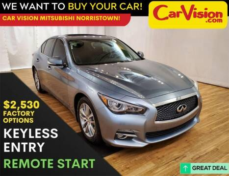 2017 Infiniti Q50 for sale at Car Vision Mitsubishi Norristown in Trooper PA