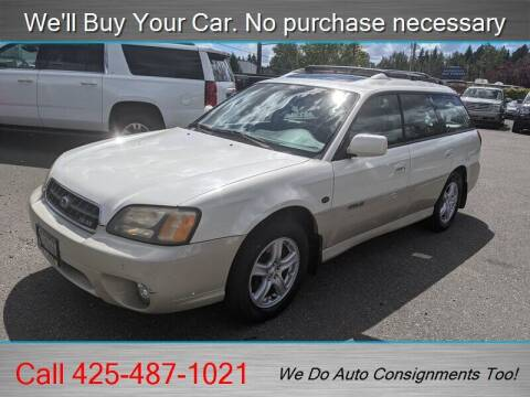 2003 Subaru Outback for sale at Platinum Autos in Woodinville WA