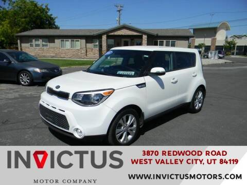 2016 Kia Soul for sale at INVICTUS MOTOR COMPANY in West Valley City UT