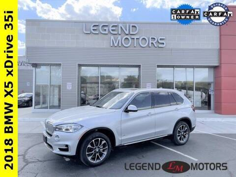 2018 BMW X5 for sale at Legend Motors of Waterford in Waterford MI
