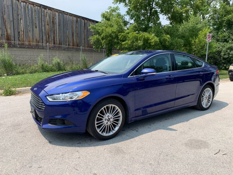 2016 Ford Fusion for sale at Posen Motors in Posen IL