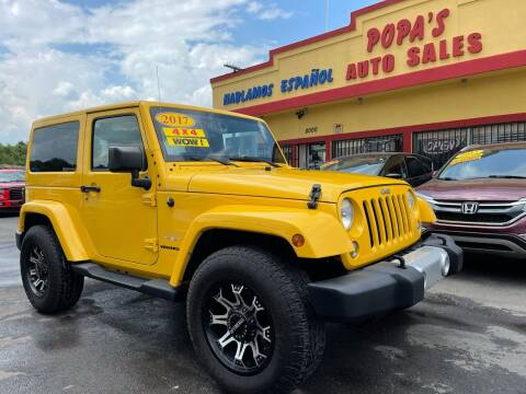 2015 Jeep Wrangler for sale at Popas Auto Sales in Detroit MI