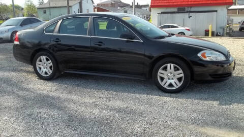 2014 Chevrolet Impala Limited for sale at MIKE'S CYCLE & AUTO - Mikes Cycle and Auto (Liberty) in Liberty IN