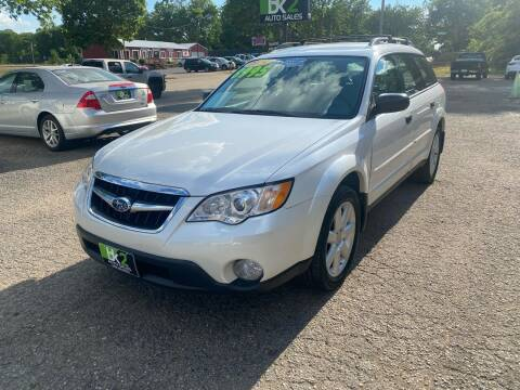 2009 Subaru Outback for sale at BK2 Auto Sales in Beloit WI