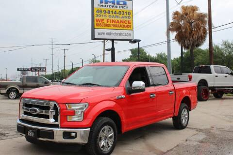 2016 Ford F-150 for sale at Flash Auto Sales in Garland TX