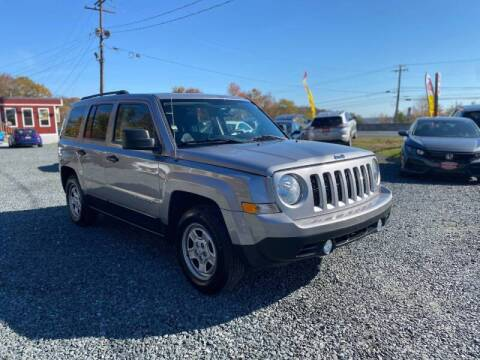 2016 Jeep Patriot for sale at A&M Auto Sales in Edgewood MD