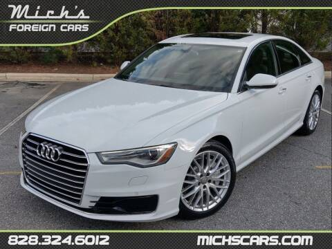 2016 Audi A6 for sale at Mich's Foreign Cars in Hickory NC