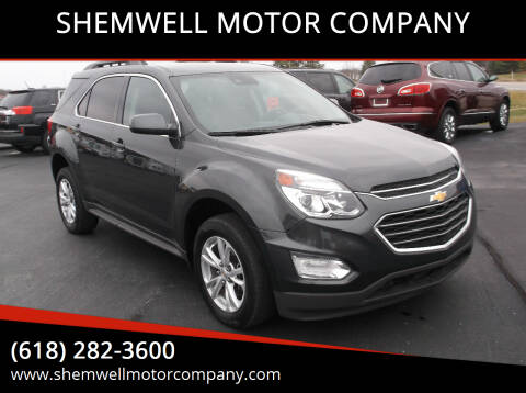 2017 Chevrolet Equinox for sale at SHEMWELL MOTOR COMPANY in Red Bud IL