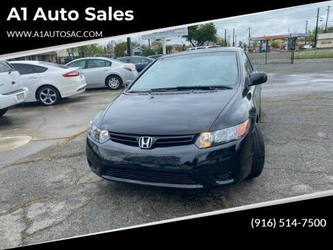 2008 Honda Civic for sale at A1 Auto Sales in Sacramento CA