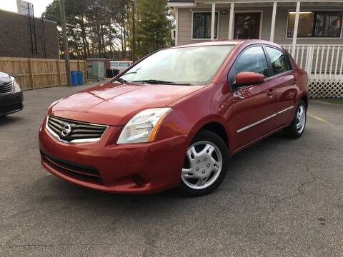 2012 Nissan Sentra for sale at Georgia Car Shop in Marietta GA