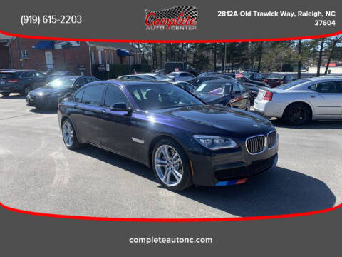 2013 BMW 7 Series for sale at Complete Auto Center , Inc in Raleigh NC