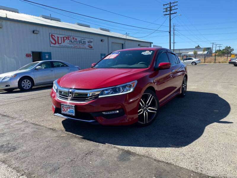 2017 Honda Accord for sale at SUPER AUTO SALES STOCKTON in Stockton CA