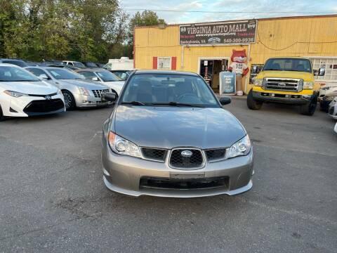 2006 Subaru Impreza for sale at Virginia Auto Mall in Woodford VA