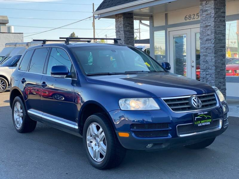 2005 Volkswagen Touareg for sale at Lux Motors in Tacoma WA