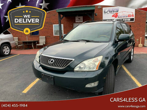 2006 Lexus RX 330 for sale at Cars4Less GA in Alpharetta GA