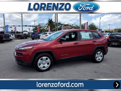 2014 Jeep Cherokee for sale at Lorenzo Ford in Homestead FL