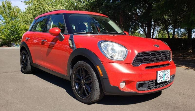 2012 MINI Cooper Countryman for sale at VIking Auto Sales LLC in Salem OR