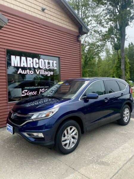 2015 Honda CR-V for sale at Marcotte & Sons Auto Village in North Ferrisburgh VT