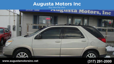 2005 Buick Rendezvous for sale at Augusta Motors Inc in Indianapolis IN