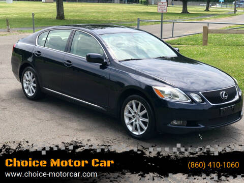 2006 Lexus GS 300 for sale at Choice Motor Car in Plainville CT