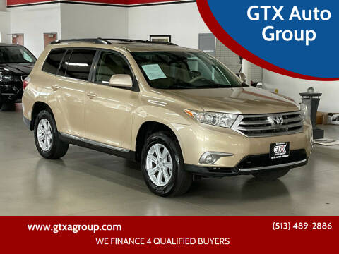 2011 Toyota Highlander for sale at GTX Auto Group in West Chester OH
