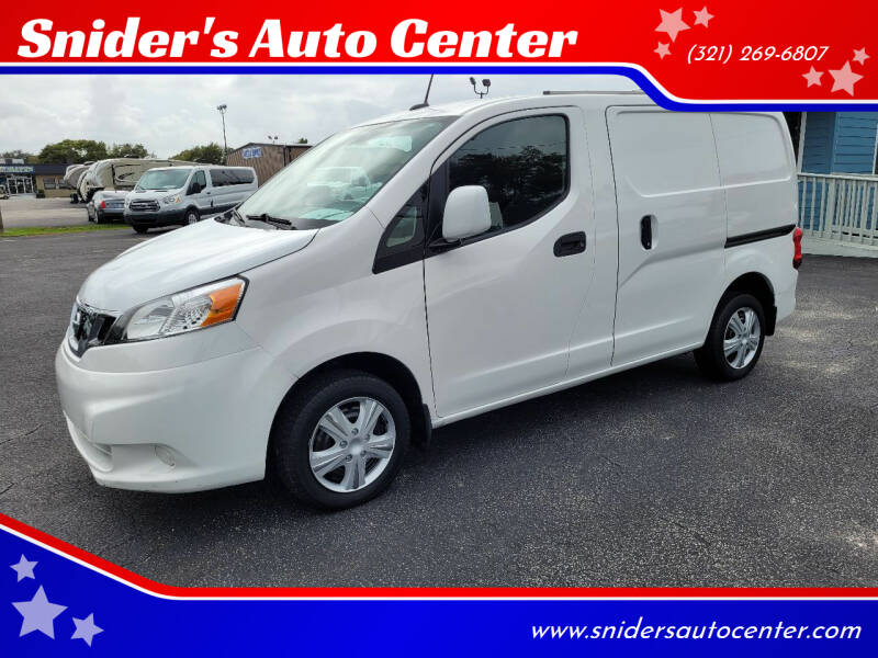 2015 Nissan NV200 for sale at Snider's Auto Center in Titusville FL