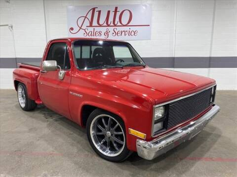 1985 Chevrolet C/K 10 Series for sale at Auto Sales & Service Wholesale in Indianapolis IN