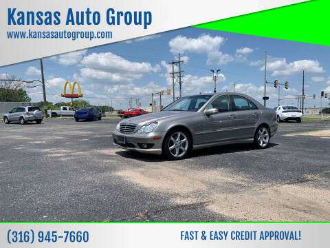 2007 Mercedes-Benz C-Class for sale at Kansas Auto Group in Wichita KS