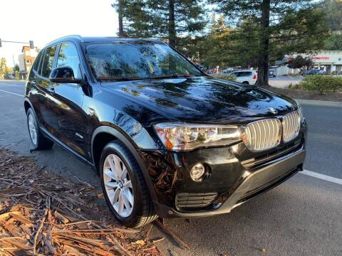 2017 BMW X3 for sale at Brand Motors llc in Belmont CA