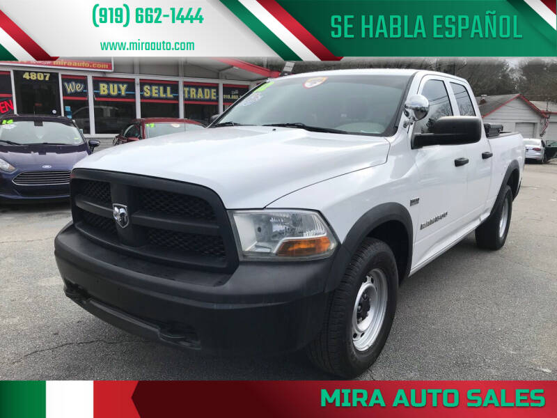 2012 RAM Ram Pickup 1500 for sale at Mira Auto Sales in Raleigh NC