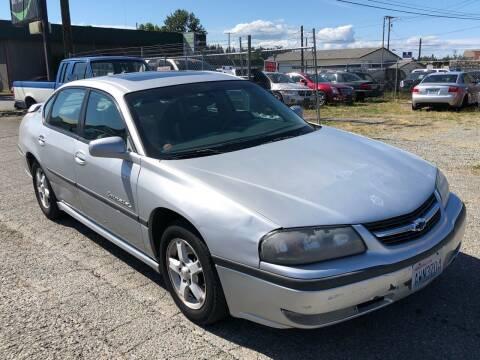 2003 Chevrolet Impala for sale at South Tacoma Motors Inc in Tacoma WA