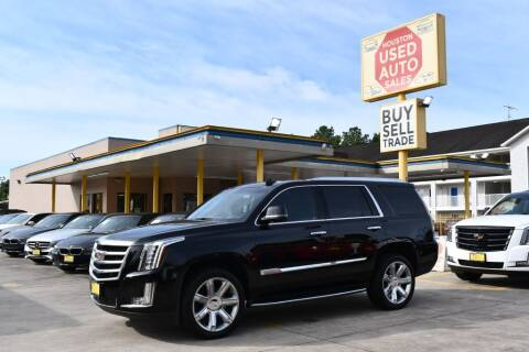 2017 Cadillac Escalade for sale at Houston Used Auto Sales in Houston TX