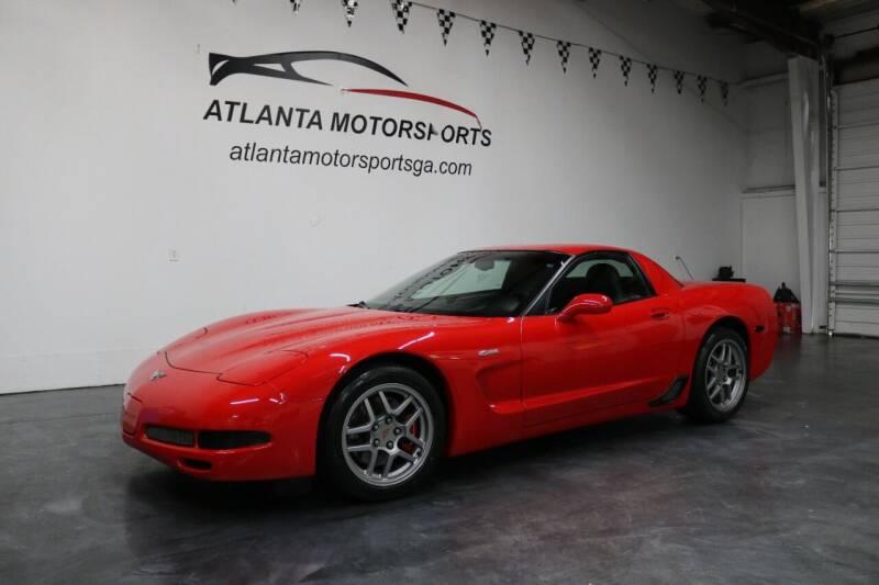 2003 Chevrolet Corvette for sale at Atlanta Motorsports in Roswell GA