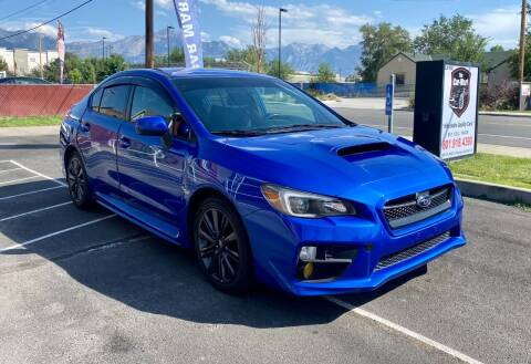 2017 Subaru WRX for sale at The Car-Mart in Murray UT