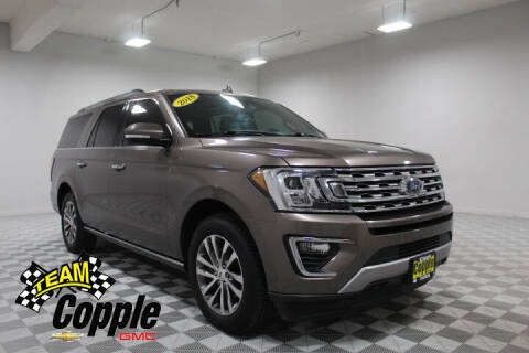 2018 Ford Expedition MAX for sale at Copple Chevrolet GMC Inc in Louisville NE