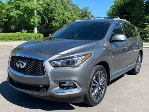 2017 Infiniti QX60 for sale at LUXURY AUTO MALL in Tampa FL