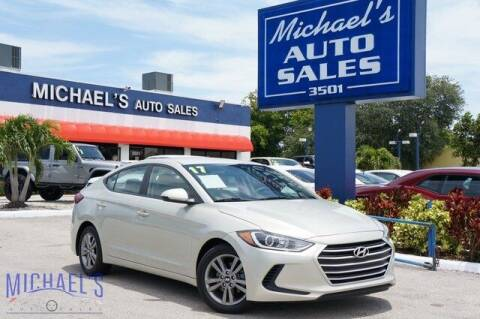 2017 Hyundai Elantra for sale at Michael's Auto Sales Corp in Hollywood FL