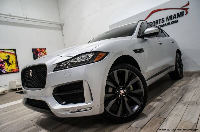 2018 Jaguar F-PACE for sale at AUTO IMPORTS MIAMI in Fort Lauderdale FL