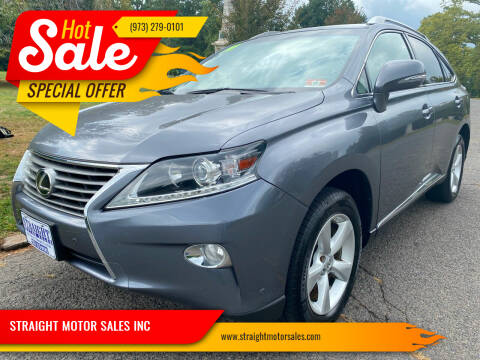 2014 Lexus RX 350 for sale at STRAIGHT MOTOR SALES INC in Paterson NJ
