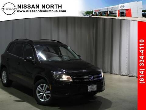 2015 Volkswagen Tiguan for sale at Auto Center of Columbus in Columbus OH