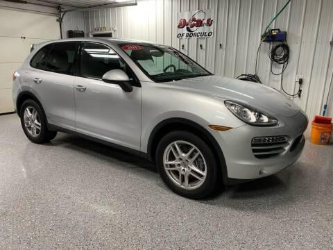 2012 Porsche Cayenne for sale at D-Cars LLC in Zeeland MI
