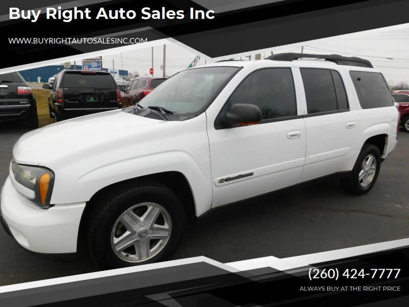 2002 Chevrolet TrailBlazer for sale at Buy Right Auto Sales Inc in Fort Wayne IN